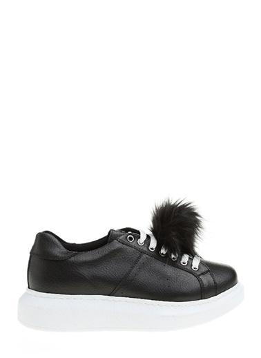Ponpon Detaylı Sneakers Ayakkabı-Divarese